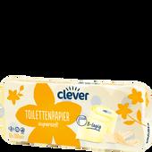 Bild: clever Toilettenpapier gelb