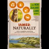 Bild: IAMS Naturally Katzenfutter mit Lamm aus Neuseeland in Sauce