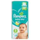 Bild: Pampers Baby-Dry Gr. 3 (6-10kg) Value Pack