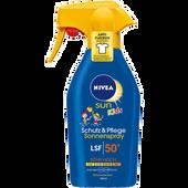 Bild: NIVEA Sun Kids Schutz & Pflege Sonnenspray LSF 50+
