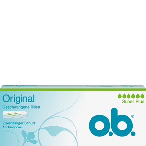 Bild: o.b. Original Tampons super plus