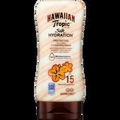 Bild: Hawaiian Tropic Silk Hydration Protective Sun Lotion LSF 15