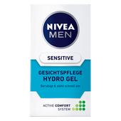 Bild: NIVEA MEN Hydro Gel Gesichtspflege sensitive