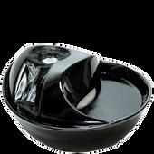 Bild: pioneer pet Keramik Trinkbrunnen Rain Drop Style schwarz