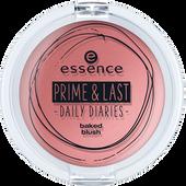 Bild: essence Prime & Last Baked Blush