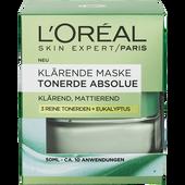 Bild: L'ORÉAL PARIS Skin Expert / Paris Klärende Maske Tonerde Absolue