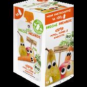 Bild: Freche Freunde Quetschbeutel Multipack Apfel, Birne & Karotte