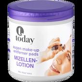 Bild: today Augen Make-Up Entferner Pads Mizellen-Lotion