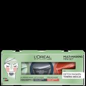 Bild: L'ORÉAL PARIS Skin Expert / Paris Multi-Masking Mini Set