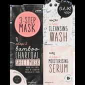 Bild: Oh K! 3-Step Bamboo Charcoal Sheet Mask