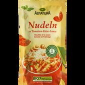 Bild: ALNATURA Nudeln in Tomaten-Käse-Sauce
