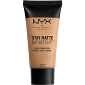 Bild: NYX Professional Make-up Stay Matte But Not Flat Liquid Foundation tan