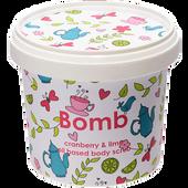 Bild: Bomb Cosmetics Cranberry & lime oil based body scrub
