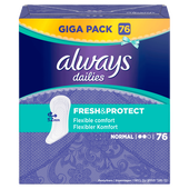 Bild: always dailies Slipeinlagen Fresh & Protect normal Giga Pack
