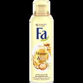 Bild: Fa Mousse & Oil mit Macadamia-Öl Moringa Duschschaum