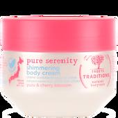 Bild: TREETS TRADITIONS pure serenity shimmering body cream