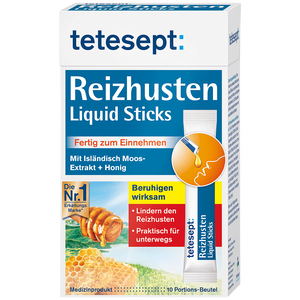 Bild: tetesept: Reizhusten Liquid Sticks