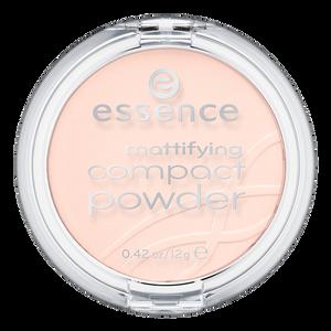 Bild: essence Mattifying Compact Powder pastel beige
