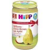 Bild: HiPP Williams-Christ-Birne mit Apfel