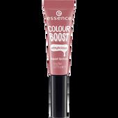 Bild: essence Boost Vinylicious Liquid Lipstick woody rosy