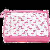 Bild: LOOK BY BIPA Kosmetiktasche Flamingo groß