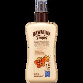 Bild: Hawaiian Tropic Satin Protection Sonnenspray LSF 15