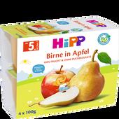 Bild: HiPP Birne in Apfel