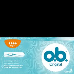 Bild: o.b. Original Tampons super