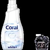 Bild: Coral Flüssigwaschmittel white+