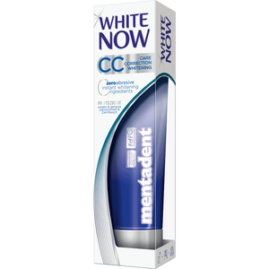 Bild: mentadent White Now CC Whitening Zahncreme