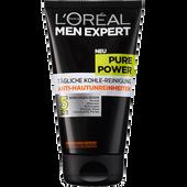 Bild: L'ORÉAL PARIS MEN EXPERT Pure Power tägliche Kohle-Reinigung Anti-Hautunreinheiten