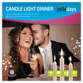 Bild: Jollydays Candle Light Dinner Box