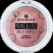Bild: essence Prime & Last Baked Highlighter