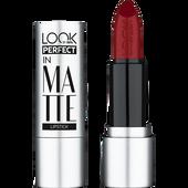 Bild: LOOK BY BIPA Perfect in Matte Lippenstift call me ruby