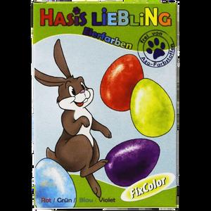 Bild: Fixcolor Hasis Liebling Eierfarben