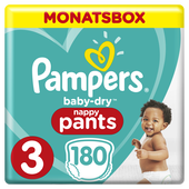 Bild: Pampers Baby Dry Pants Gr.3 Midi 6-11kg MonatsBox