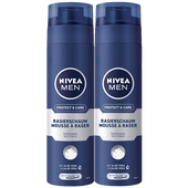 Bild: NIVEA MEN Protect & Care Rasierschaum Duo