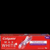 Bild: Colgate Max White & Protect Zahncreme