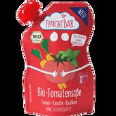 Bild: FruchtBar Quetschbeutel  Bio-Tomatensoße