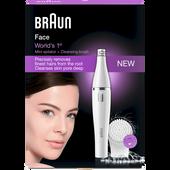 Bild: Braun Face 810 Gesichts Epilierer & Gesichtsreinigungsbürste