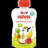 Bild: HiPP Hippis Erdbeere-Banane in Apfel