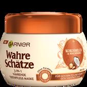 Bild: GARNIER Wahre Schätze 3-in-1Maske Kokosmilch & Macadamia