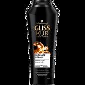 Bild: Schwarzkopf GLISS KUR Hair Repair Ultimate Repair Shampoo