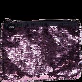 Bild: LOOK BY BIPA Kosmetiktasche Wendepailetten groß