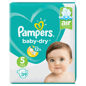 Bild: Pampers Baby-Dry Gr. 5 (11-16kg) Value Pack