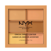Bild: NYX Professional Make-up Conceal,Correct, Contour Palette medium