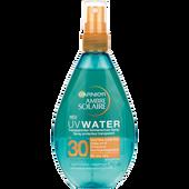 Bild: GARNIER AMBRE SOLAIRE Transparentes Sonnenschutz-Spray UV Water LSF 30