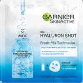 Bild: GARNIER SKIN ACTIVE Hyaluron Shot Fresh-Mix  Tuchmaske
