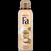 Bild: Fa Mousse & Oil mit Kokosnuss-Öl Kakaobutter Duschschaum