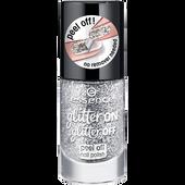 Bild: essence glitter ON glitter OFF peel off Nagellack 01